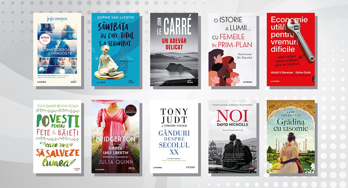 Top 10 cele mai citite cărți Litera în luna august 2021
