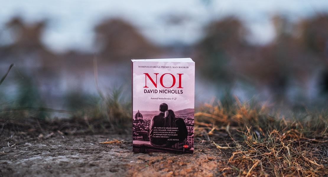 """Bestsellerul săptămânii pe Litera.ro: """"Noi"""", cel mai recent roman al îndrăgitului scriitor David Nicholls"""