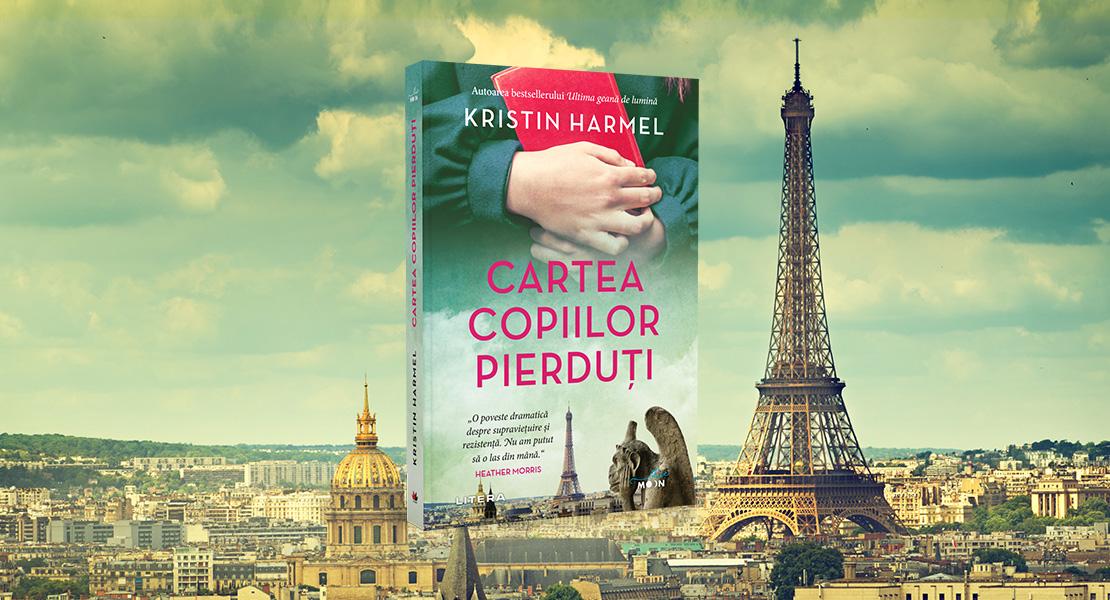 """Marți, 14 septembrie 2021, la toate chioșcurile de presă: """"Cartea copiilor pierduți"""" de Kristin Harmel"""
