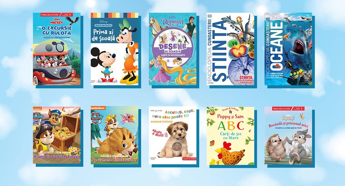 10 cărți pentru copii în curs de apariție la Editura Litera