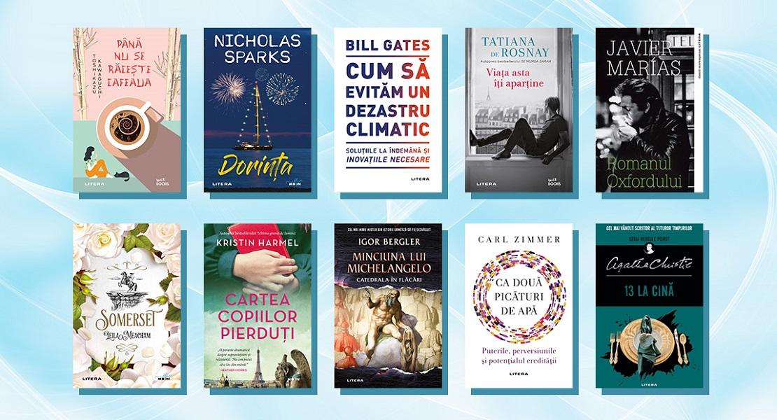 În curs de apariție la Editura Litera: 10 cărți pe care trebuie să le pui pe lista ta de lectură!