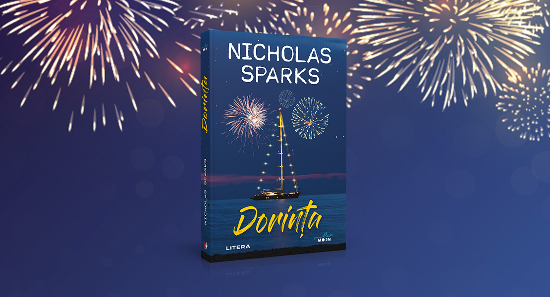 """Marți, 21 septembrie 2021, la toate chioșcurile de presă: """"Dorința"""", noul roman al scriitorului Nicholas Sparks"""