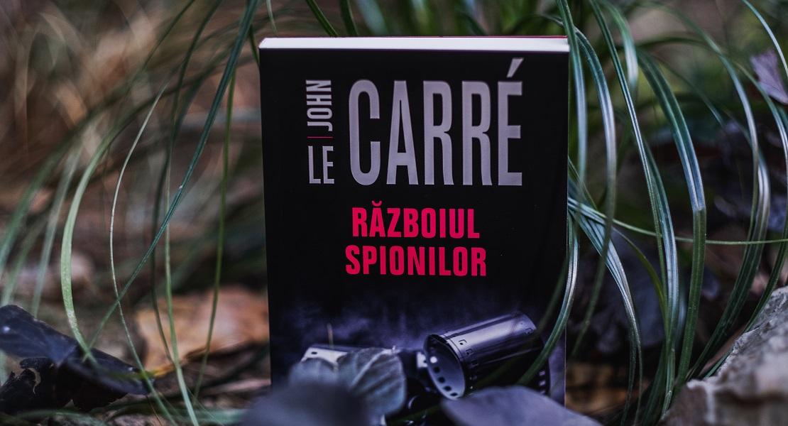 """Bestsellerul săptămânii pe Litera.ro: """"Războiul spionilor"""" de John le Carré"""