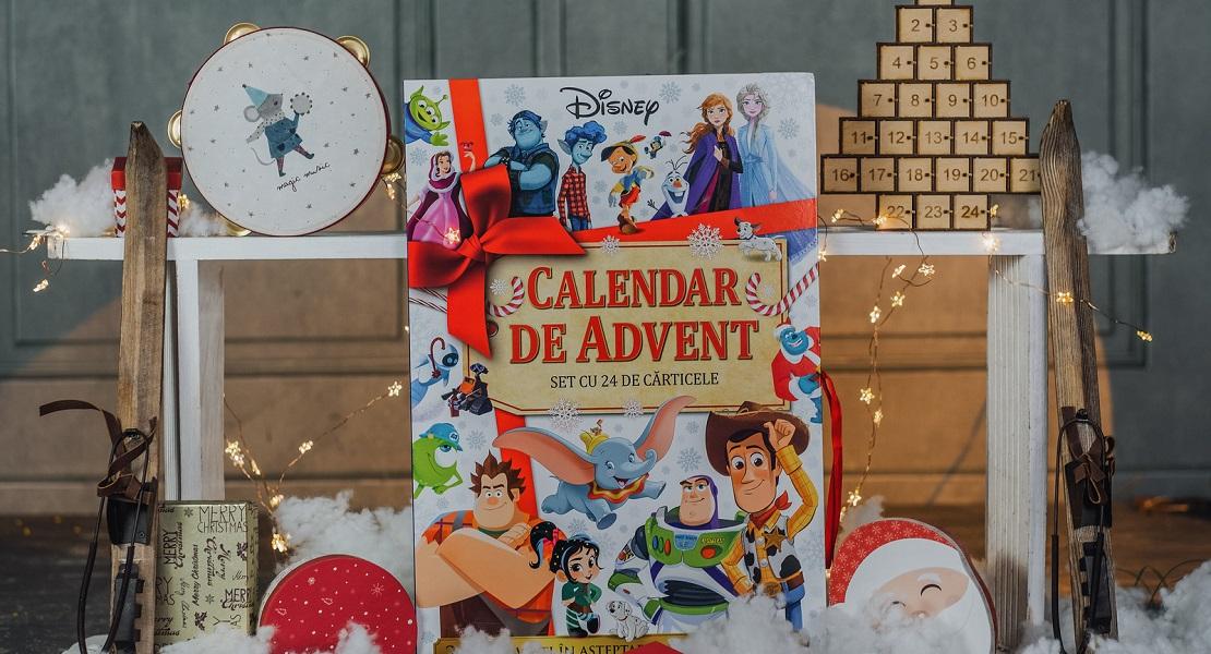 Cele mai frumoase povești Disney, disponibile într-un minunat calendar de Advent. Precomandă acum cu 30% reducere și transport gratuit!