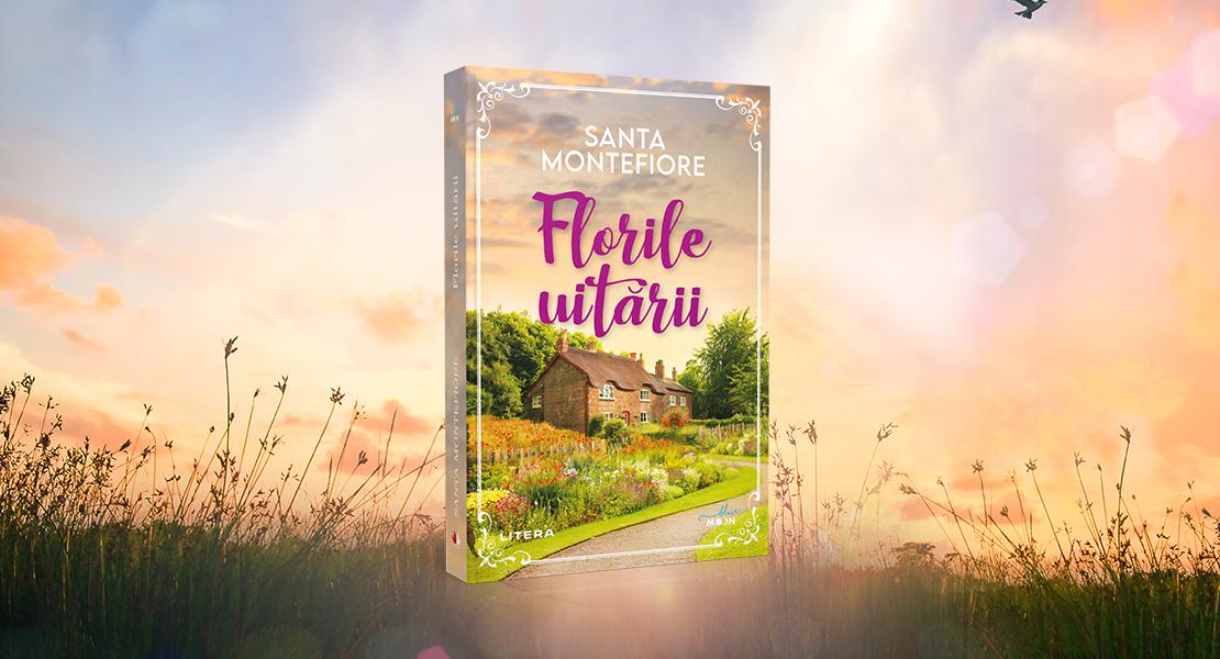 """Marți, 12 octombrie 2021, la toate chioșcurile de presă: """"Florile uitării"""" de Santa Montefiore"""