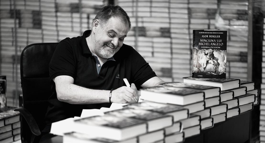 Igor Bergler, autorul lunii octombrie pe Litera.ro
