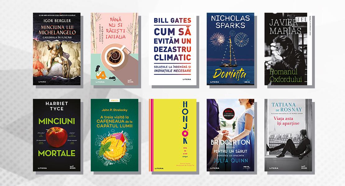 Top 10 cele mai citite cărți Litera în luna septembrie 2021