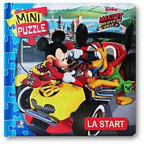 Disney Junior. Mickey și piloții. La start. MINI PUZZLE